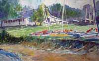 Camp Morehead Prints Hobie Cats - Sailing