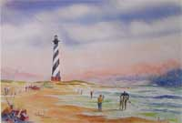 Cape Hatteras Lighthouse - Print