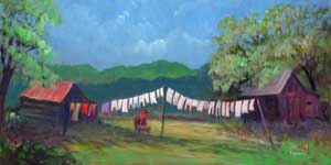 Wash Day - Limited Edition Prints - GICLEE