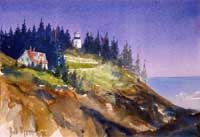 Maine Art Coastal Painting